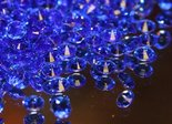 Blue Scatter Crystals
