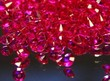 Hot Pink Scatter Crystals
