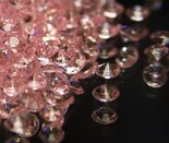 Baby Pink Scatter Crystals