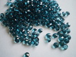 Teal Petrol Blue Scatter Crystals