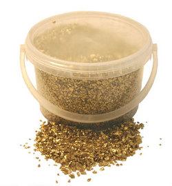Gold Glass Sand