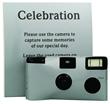Silver Single Use Disposable Camera