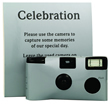 Silver Single Use Disposable Camera 10 Pack