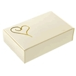 Cake Boxes - Ivory & Gold 10 Pack
