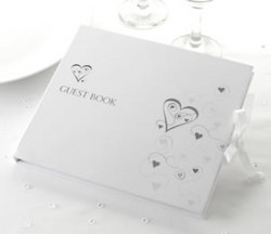 Guest Book - Contemporary Hearts