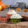 Happy Halloween Cake Cases and Picks