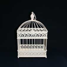 Large Rectangular Bird Cage