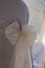 Ivory Lace Sash