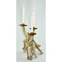 Driftwood Small Candle Holder