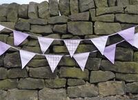 Shades of Lavender Bunting