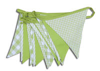 Shades of Green Bunting
