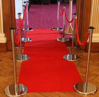 Red Carpet, Poles & Ropes