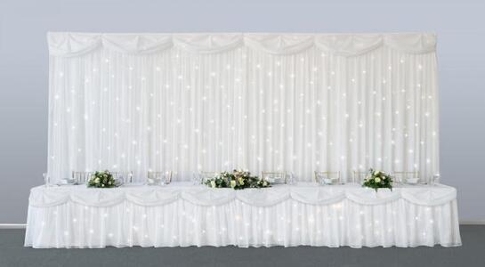Ivory Starlight Backdrop